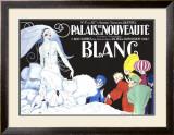 Palais de la Nouveaute, Blanc Framed Giclee Print