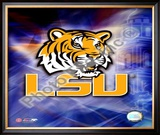 LSU Logo Framed Photographic Print