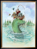 The Keeper Framed Giclee Print by Gary Patterson