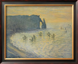 The Cliffs at Etretat Posters by Claude Monet