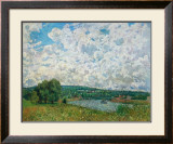 Bords de la Seine Prints by Alfred Sisley