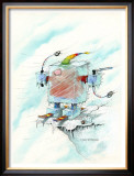 Windchill Framed Giclee Print by Gary Patterson