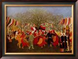 Hundert Jahre Freiheit Art by Henri Rousseau