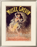 Musee Grevin, Palais Mirages Framed Giclee Print by Jules Chéret