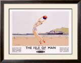 The Isle of Man Framed Giclee Print by Charles Pears