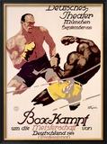 Box-Kampf Framed Giclee Print