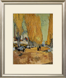 Allee des Alyscamps Prints by Vincent van Gogh