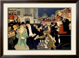 LMS Railway, London Piccadilly Framed Giclee Print