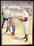 Hey Batter-Batter! Framed Giclee Print