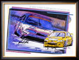 Michelin, Tire Ford Trans Am Framed Giclee Print