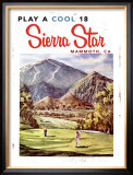Play a Cool 18, Sierra Star Framed Giclee Print