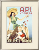 A.P.I. Cioccolato Framed Giclee Print by Di Lullo