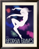 Georgian Graves Framed Giclee Print by Paul Colin