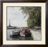 The Seine Prints by Ernesto Rodriguez
