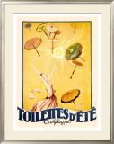 Toilettes d'Ete Framed Giclee Print by Jean-Gabriel Domergue