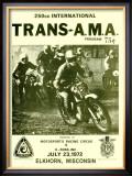 Trans-AMA 250 Motocross, c.1972 Framed Giclee Print