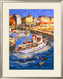 Bridlington Framed Giclee Print by Frank A. A. Wootton