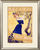 Huile d'Olive Framed Giclee Print