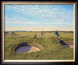 St. Andrews 10th - Bobby Jones Limited Edition Framed Print by Peter Munro