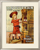 Le Souverain Framed Giclee Print