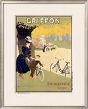 Griffon Framed Giclee Print by Walter Thor