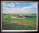 St. Andrews 14th - Long Limited Edition Framed Print by Peter Munro