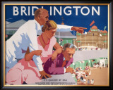 Bridlington Framed Giclee Print by Fred Taylor