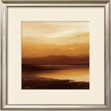 Evening Sky I Print by Hans Paus