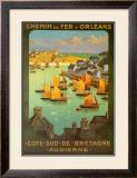 Chemi De Fer Dorleans Art by  Alo (Charles-Jean Hallo)