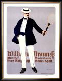 Wilhelm Braun Framed Giclee Print by Carl Moos