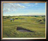 St. Andrews 13th - Hole O'Cross (In) Limited Edition Framed Print by Peter Munro