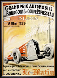 Grand Prix Roadster Race, c.1929 Framed Giclee Print