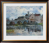 The Bridge of Moret, 1887 Posters by Alfred Sisley