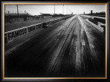 Famoso Drag Strip Framed Giclee Print by David Perry