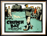Cruden Bay Framed Giclee Print by Austin Cooper