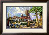 Dordrecht via Harwich Framed Giclee Print