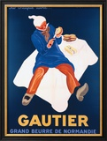 Beurre Gautier Framed Giclee Print by Leonetto Cappiello
