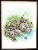Beginner's Luck Framed Giclee Print by Gary Patterson
