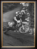 Berm Launch Framed Giclee Print by Charlie Morey