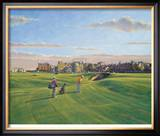 St. Andrews 17th - Road Limited Edition Framed Print by Peter Munro