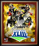 2008 Pittsburgh Steelers Superbowl Big 5 Framed Photographic Print
