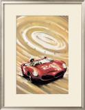 24 Heures du Mans Framed Giclee Print by Geo Ham