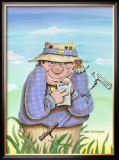 Temptation Framed Giclee Print by Gary Patterson