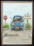 Decisions Framed Giclee Print by Gary Patterson