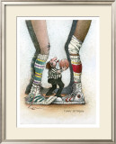 Jump Ball Framed Giclee Print by Gary Patterson