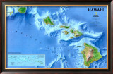 Map of Hawaii Print