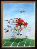 Power Play Framed Giclee Print by Gary Patterson