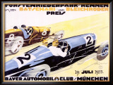 Bayer Auto Club Roadster, c.1924 Framed Giclee Print by Julius U. Engelhard
