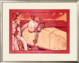 Baron Pierre de Crawhez Framed Giclee Print