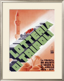 Lotteria di Tripoli Framed Giclee Print by Luigi Martinati